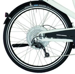 E-Bike-mit-Motor-im-Hinterrad