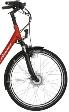 E-Bike-mit-Motor-im-Vorderrad