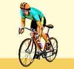 Sportliche Sitzpositon - Rennrad